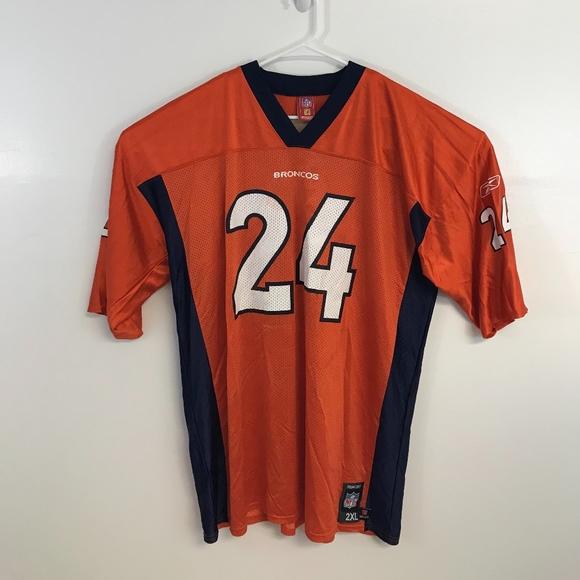 Champ Bailey  24 Denver Broncos Jersey NFL 2XL Rbk.  M 5b7efa175c44521d8e2981e2 25caf5743